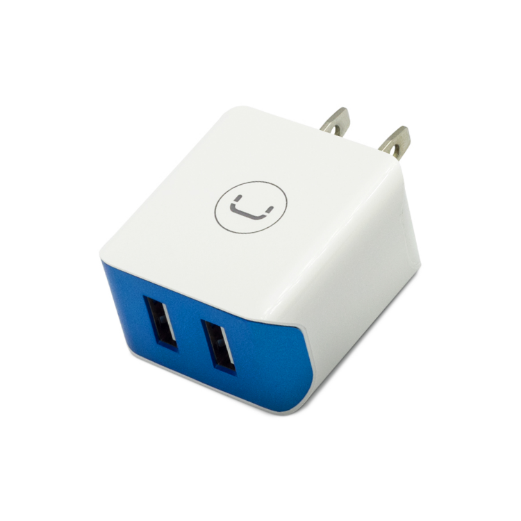 WALL CHARGER DUAL USB 2.1 A<p>PW5052WT</p>