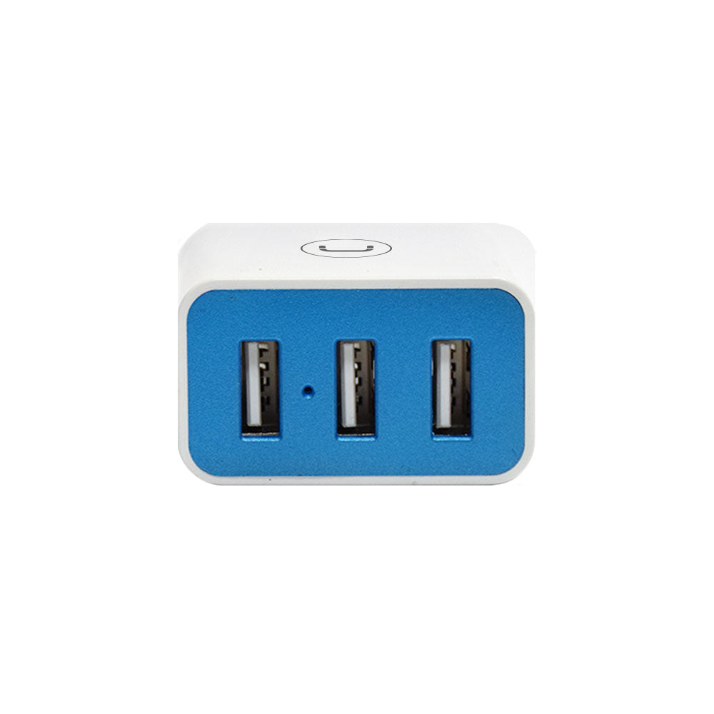 WALL CHARGER TRIPLE USB | 3.4A<p>PW5053WT</p>