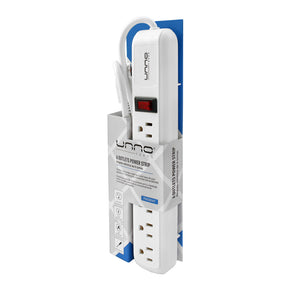 6 OUTLETS POWER STRIP | 1875W<p>PW5081WT</p>