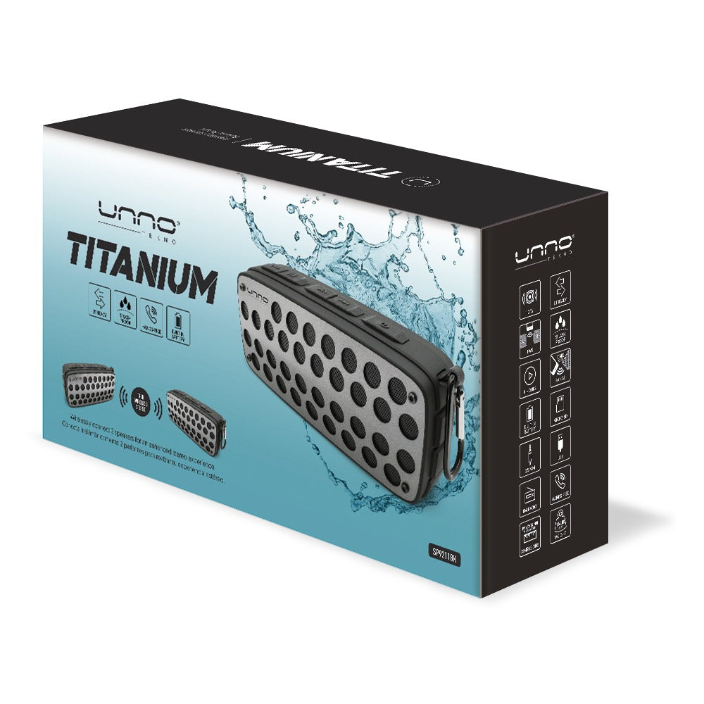 TITANIUM TWS & SPLASH-PROOF SPEAKER<p>SP9211</p>