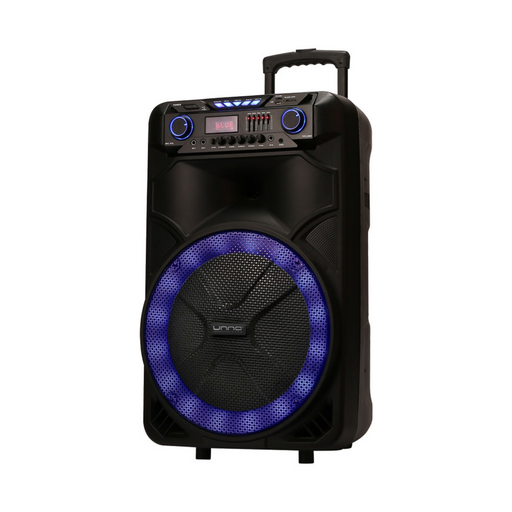 SOUNDWAVE 25 PRO PORTABLE SPEAKER WITH LED LIGHTS & STAND<p>SP9427BK</p>