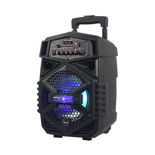 SOUNDWAVE 3 MINI TWS PORTABLE SPEAKER WITH LED LIGHTS<p>SP9403BK</p>
