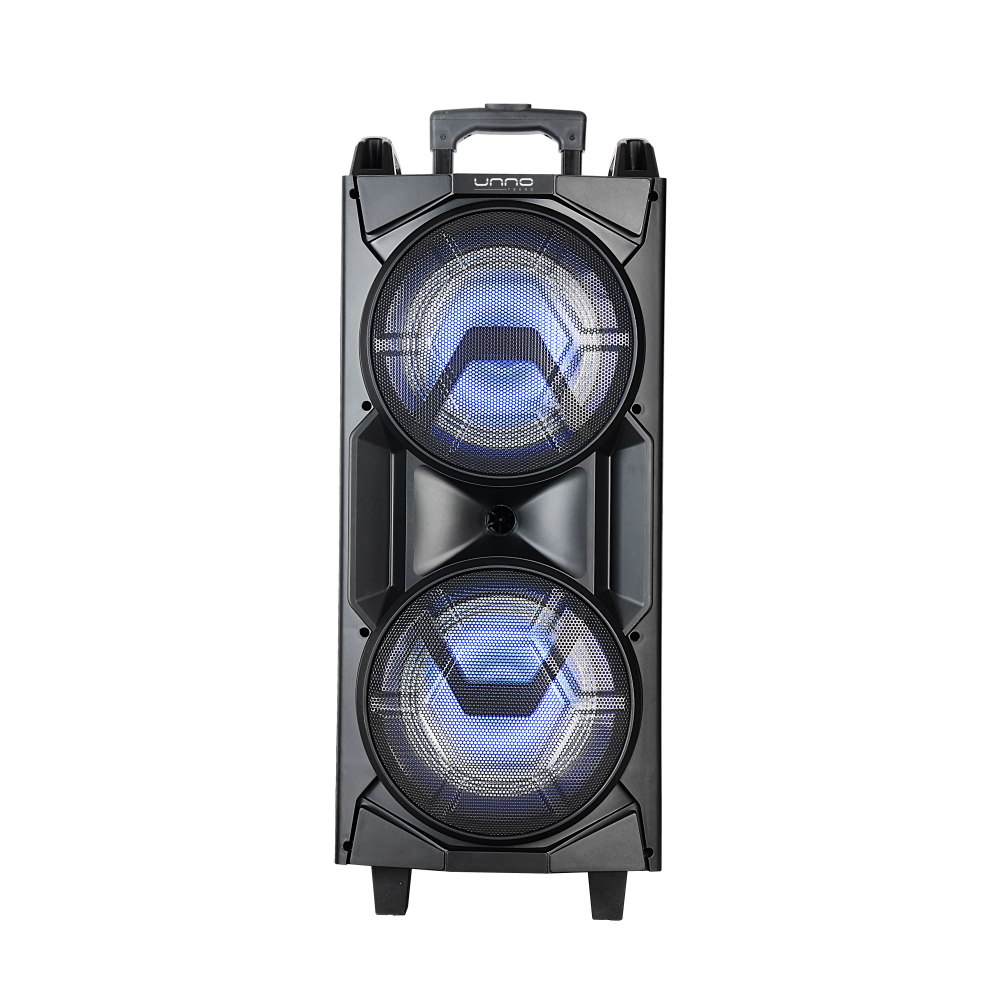 SOUNDWAVE 8 MAX PORTABLE SPEAKER WITH LED LIGHTS<p>SP9416BK</p>