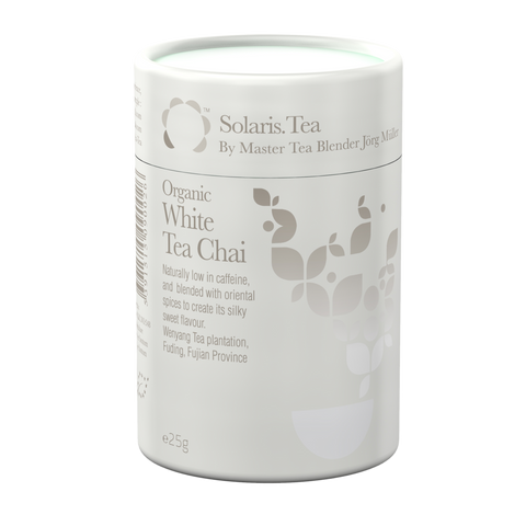 Organic White Tea Chai - Solaris Tea