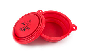 I Luv My Mutt Collapsible Travel Bowl