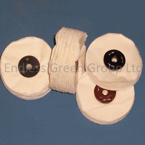 Loose Leaf Polishing Wheels  - 100mm