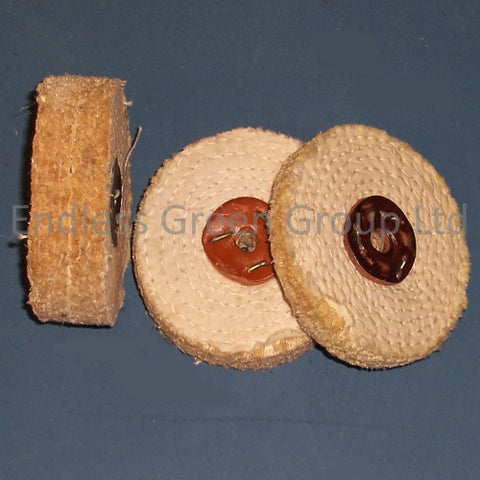 Sisal Polishing Wheels - 100mm