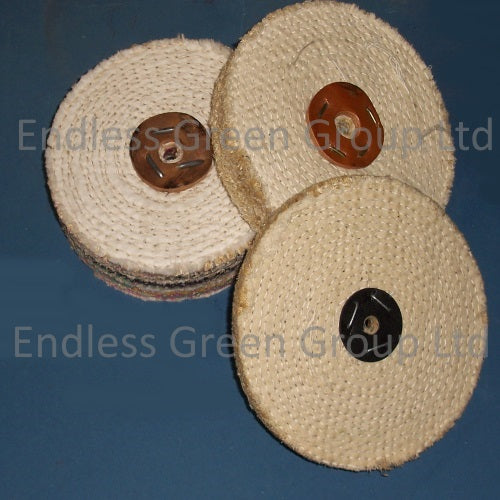 Sisal Polishing Wheels - 150mm