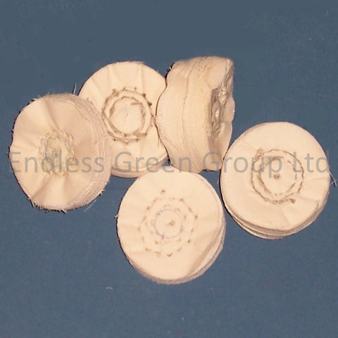 Loose Leaf Polishing Wheels  - 50mm