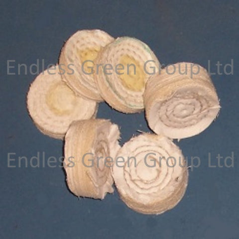 Close Stitched Cotton Polishing Wheels - 50mm