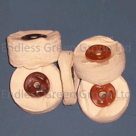 Loose Leaf Polishing Wheels - 75mm