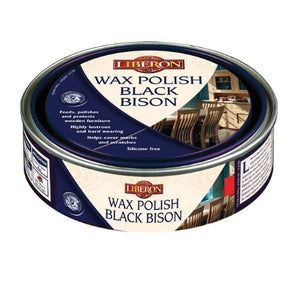 Black Bison Wax Polish - Oak