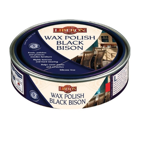 Black Bison Wax Polish - Clear