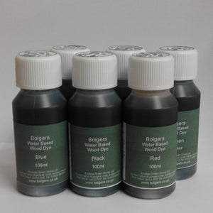 Water Based Wood Dye - Crafters Set of 6 Colours