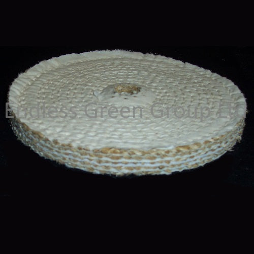 "Sisal Polishing Wheel - 1/2"" Hole"