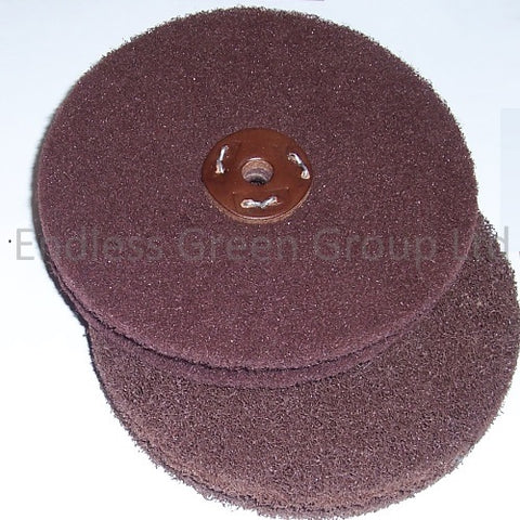 Satin Finish Abrasive Wheels - 150mm