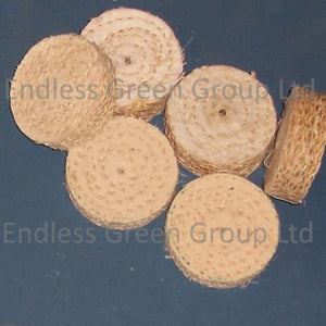 Sisal Polishing Wheels - 50mm