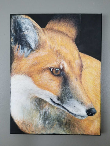 Little Fox - Original Painting