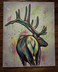 Electrik Elk - Original Painting