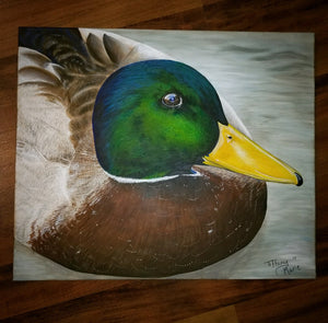 Damn Duck - Limited Edition Prints - Tiffany Marie Art