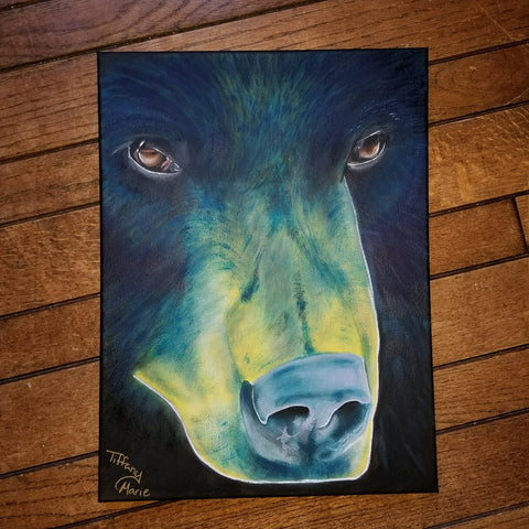 Black Bear - Original Art - Tiffany Marie Art