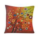 Oil Painting Cushion Cover