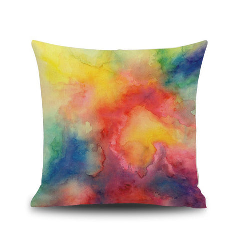 Watercolor Painting Cushion Cover