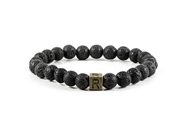 Lava Stone Aromatherapy Bracelet - I Feel Grounded