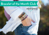 Bracelet of the Month CLUB - September - Moss Agate - ABLE