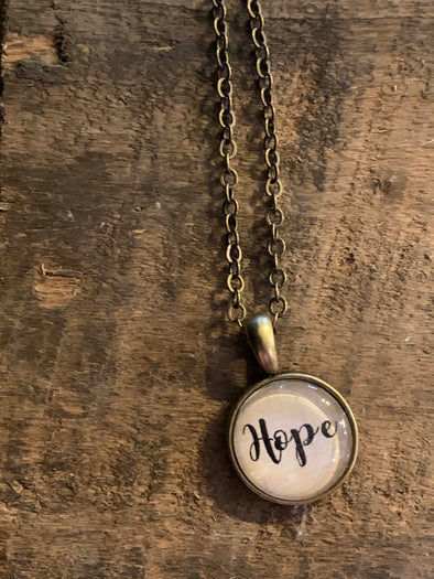 Hope Mini Pendant Necklace