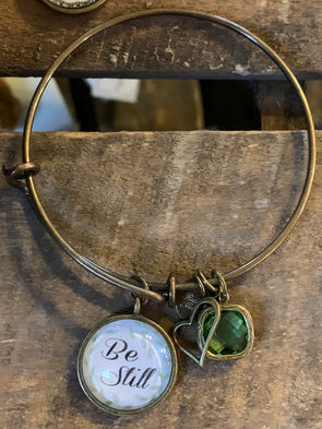 Be Still Bangle Bracelet