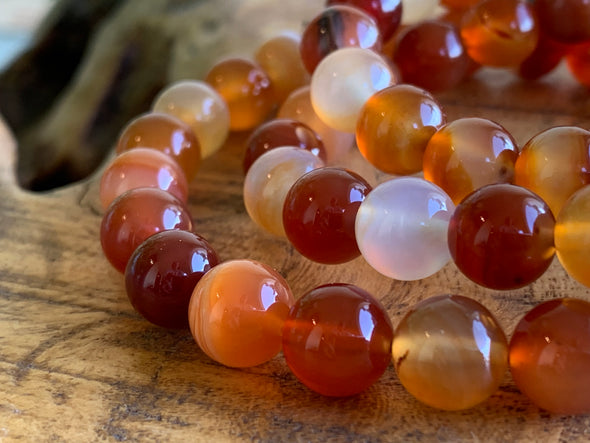 Carnelian (Red Agate) Beads - Wholesale