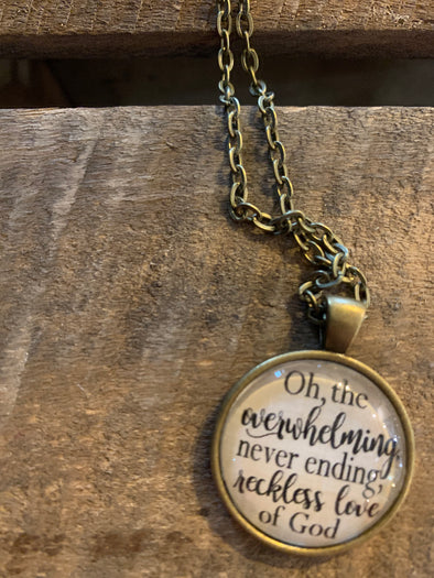 Reckless Love of God Pendant Necklace