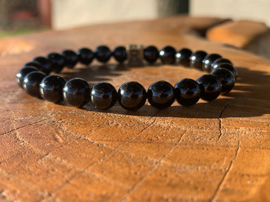 February Bracelet of the Month - OBSIDIAN - I Feel FEARLESS