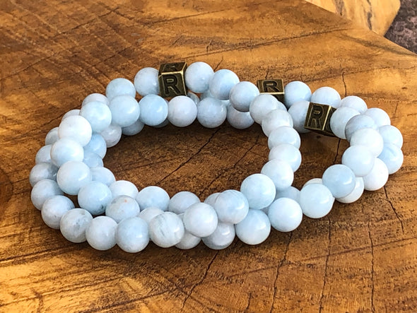 March Bracelet of the Month - Aquamarine - I Feel Alive