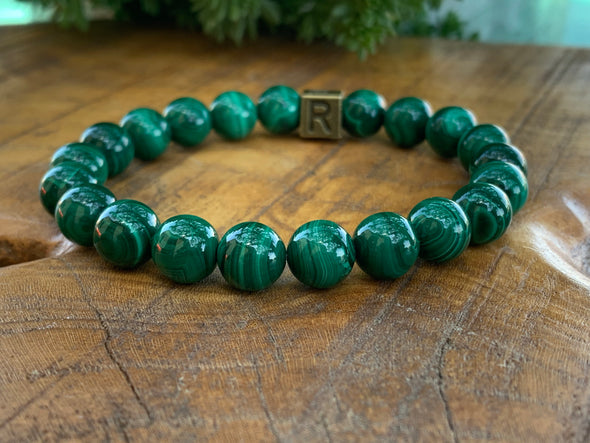 Malachite Authentic Natural Stone Bracelet - I Feel Transformed