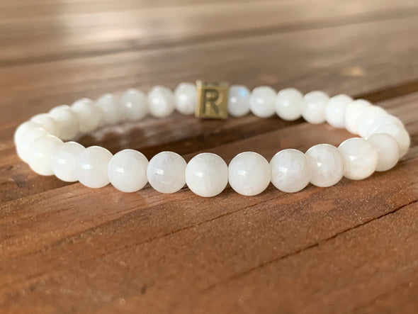 July Bracelet of the Month - MOONSTONE - New Beginnings