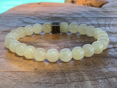 Natural Stone Bracelet - Yellow Calcite - I Feel Confident (SALE!)