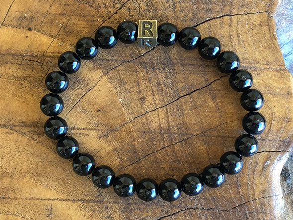 Black Tourmaline Natural Stone Bracelet - I Feel Protected