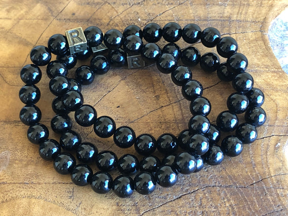 April Bracelet of the Month - Black Tourmaline - I Feel Protected