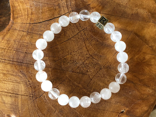 Quartz Natural Stone Bracelet - I Feel Grateful