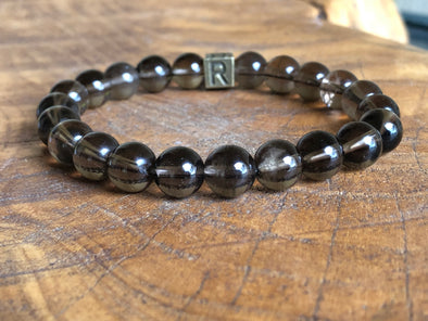 Natural Stone Bracelet -  Smoky Quartz - I Feel Invigorated (SALE!)
