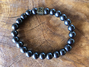 "Hematite Natural Gemstone Bracelet - ""I feel..."" Refreshed"