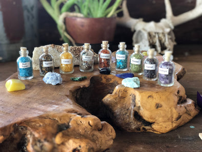 Gemstone Keepsake Bottles