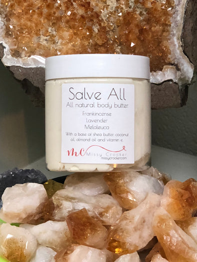 "Natural Whipped Body Butter - ""Salve All"""