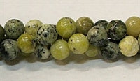 Yellow Grass Jasper Stone Beads