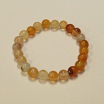 Red Agate Natural Stone Bracelet