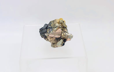 Fluorite on Pyrite Collecter Specimen (17A)