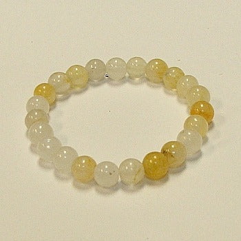 Imperial Light Jade Stone Bracelet