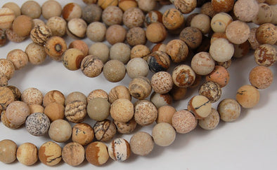 Picture Jasper Natural Stone Beads